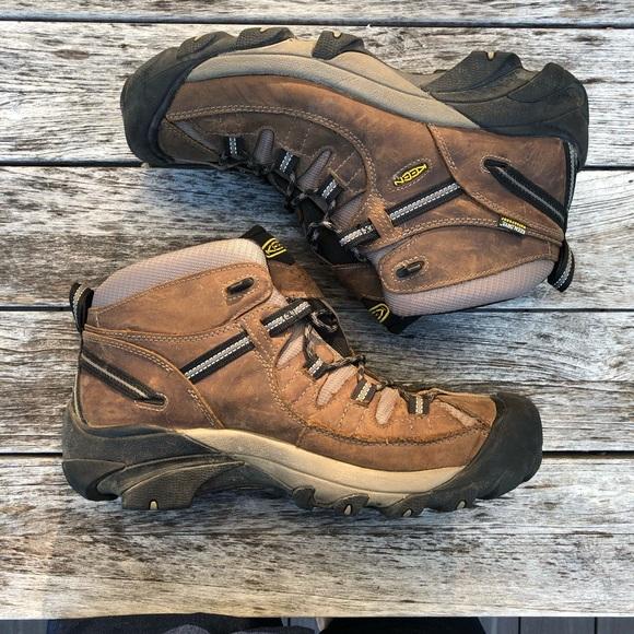 a58dcea2f44 KEEN Men's Targhee II Waterproof Mid Boots